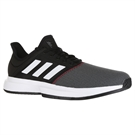 adidas Game Court Mens Tennis Shoe - Core Black/White/Shock Red
