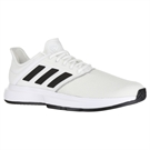 adidas Game Court Wide Mens Tennis Shoe - White/Core Black/Grey