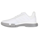 adidas Court Jam Bounce Womens Tennis Shoe - White/Light Granite