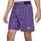 Nike Court Slam Shorts Mens Deep Night/Blackened Blue/Ghost Green CI9166 510