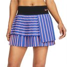 Nike Court Slam Skirt Womens Deep Night/Black/Laser Crimson CI9401 510