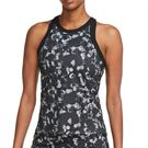 Nike Court Dri Fit Printed Tank Womens Black/Grey CK8471 010