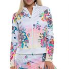 Lucky in Love K Swiss Collaboration Tropic Fusion Jacket Womens Multi CT587 F67955