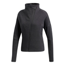 adidas Heather Cowl Neck Jacket - Black/Grey Five