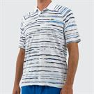 Lacoste Novak Raglan Polo - White/Navy Blue/Nattier Blue
