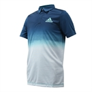 adidas Boys Parley Polo - Petrol Night/White