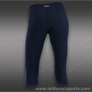 Fila Essenza Lux Tight Capri-Peacoat
