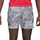 adidas Printed 7 inch Short Mens Glory Grey GG3740