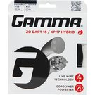 Gamma ZO Dart 16 XP 17 Hybrid Tennis String
