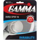 Gamma DuraSpin 16G Tennis String