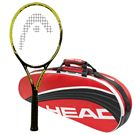 Head Youtek IG Extreme MP 2.0 Tennis Racquet, 3 Pack Bundle