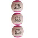 Hello Kitty Pressureless Tennis Balls 3 pack - Pink/Blue
