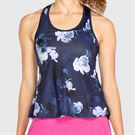 Eleven Neon Dreams Raceday Tank Top Womens Moody Blues ND3176 427