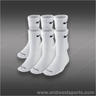 Nike Dri-FIT Crew 6-Pack Sock White