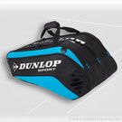 Dunlop Biomimetic Tour 10 Pack Blue Tennis Bag