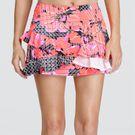 Tail Vibrant Glam Asymmetric Ruffle Skirt - Glamorous
