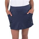Jofit Cape May Mina Skirt Womens Dot Midnight Jacquard TB206 CMD