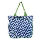 All For Color Nautical Tide Tennis Tote