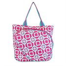 All For Color Pink Charmer Tennis Tote