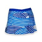 Wilson Spring Watercolor Flare Skirt - Blue Iris Print