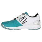Wilson Kaos 2.0 Mens Tennis Shoe - Tropic Green/White/Black