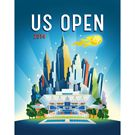 Wilson US Open Beach Towel WRZ528700