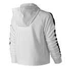 New Balance Anticipate Crop Hoodie - White