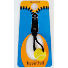 Sporties Tennis Ball Zipper Pull