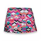 Eleven Ndebele 14.5 Inch Flutter Skirt - Ndebele Print