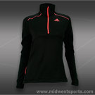adidas Tech Fit 1/2 Zip-Black