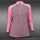 JoFit Manhattan Beach Raglan Mock Shirt