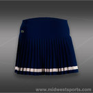Lacoste Technical Pleated Skirt-Methylene Blue