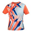 Athletic DNA Mesh Crew - Tiger Claw/Blaze Orange