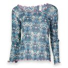 Denise Cronwall Geo Pullover Top- Print