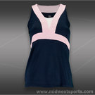 Tail Desert Springs Racerback Tank-Navy Blue