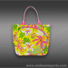 All For Color Island Oasis Tennis Tote