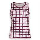 DUC Absolute Printed Tank - White/Maroon