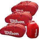 Wilson Super Tour Red Bag Deal w/ Wilson Racquet Purchase
