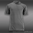 Wilson Solana Embossed Polo-Graphite