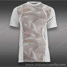 Wilson Solana Geometric V-Neck Shirt-White