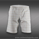 Wilson Boys Rush Plaid Short-White