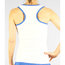 Nike Border Strappy Tank - White/Royal Blue