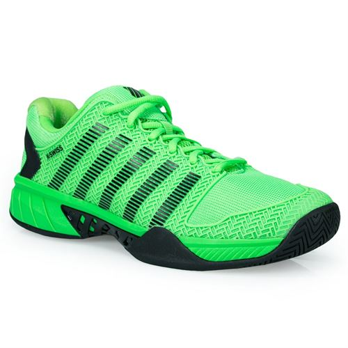 K Swiss Hypercourt Express Mens Tennis Shoe - Neon Lime/Black