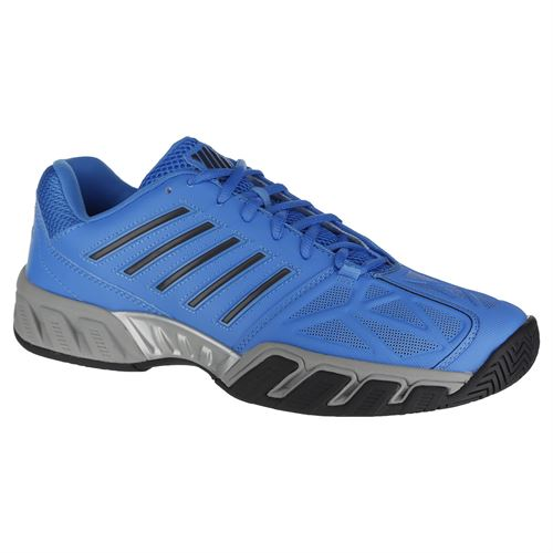 985bace71a8d K Swiss Bigshot Light 3 Mens Tennis Shoe - Malibu Blue Magnet Highrise