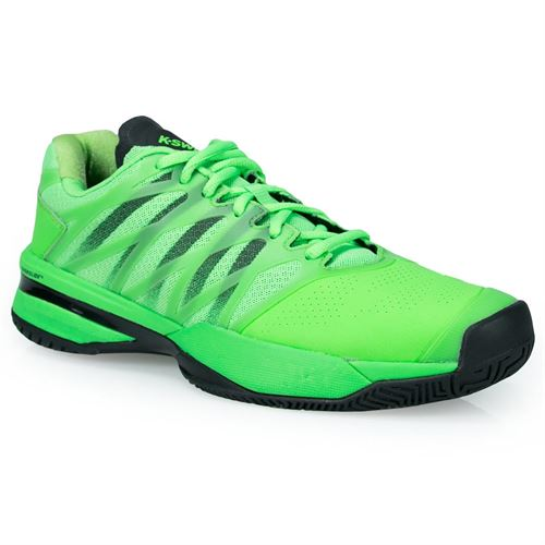 K Swiss Ultrashot Mens Tennis Shoe - Neon Lime/Black