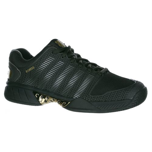 KSwiss Hypercourt Express Special Edition Mens Tennis Shoe - Black Ink Gold 218c46faa8a0