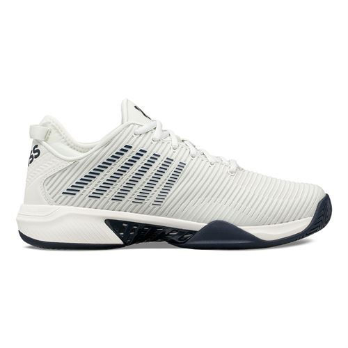 K Swiss Hypercourt Supreme Mens Tennis Shoe Barely Blue/White/Navy 06615 083