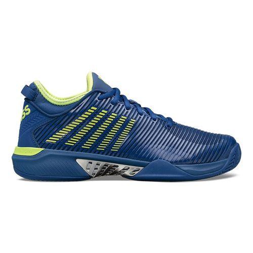 K Swiss Hypercourt Supreme Mens Tennis Shoe Limoges/Sharp Green/Silver 06615 448