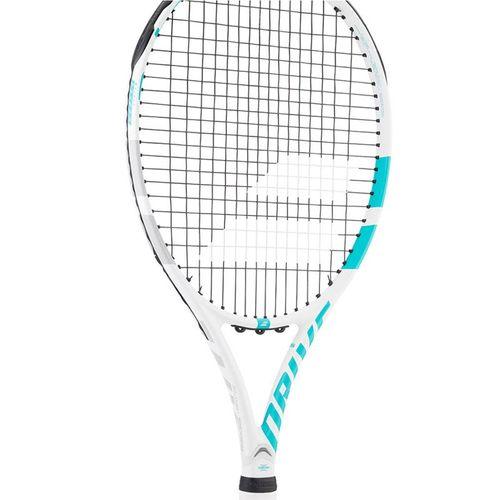 Babolat Drive G Lite Tennis Racquet - White/Aqua Blue