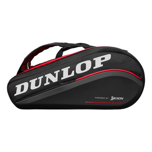 Dunlop Srixon CX Performance 15 Pack Tennis Bag - Black/Red